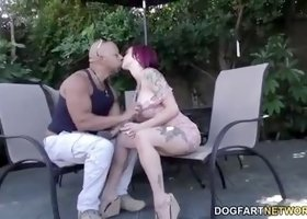 Big cock sex video featuring Anna Bell Peaks and Anna Bell