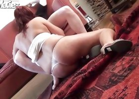 Chubby Redhead Needs A Hot Injection Of Cock
