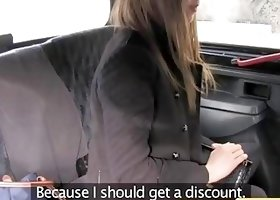 Fake Taxi UK - Innocent College Does Backseat Anal