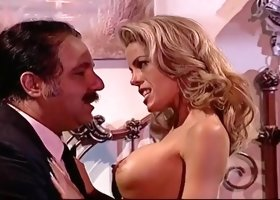 Ron Jeremy Fucking A Hot Lady In Her Shaved Pussy