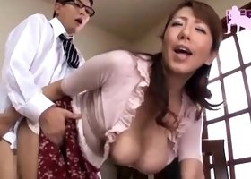 Asian Amateur Japanese big boobs vibrator orgasm eruption