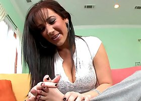 Jayden Jaymes The Footjob Queen