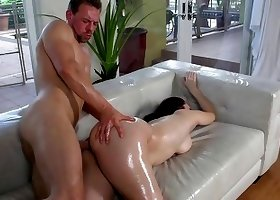 Sweet milf with amazingly hot ass asked for a good anal action