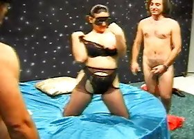 Real Italian Swingers Hot Threesome Action Here
