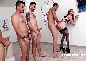 Lauren Phillips is getting her backside crammed up with 2 hard-ons at the same time