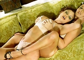 Erica Cambell & Aria Giovanni - The Lesbian Party Continues
