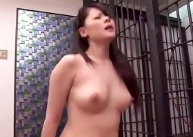 Horny Japanese whore Natsumi Mitsu in Hottest DP, Stockings JAV movie