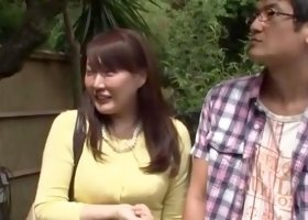 Fabulous Japanese model Hinata Komine, Kyouko Maki in Exotic Outdoor JAV video