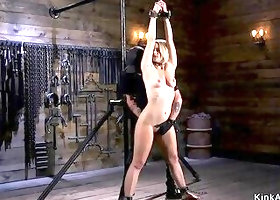 Big butt blonde anal fucked in bdsm