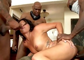 Danica Dillan's holes are all insatiable black men crave