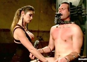 Felony & John Jammen in 4 Rules Of A Dominatrix Dungeon With The Fleshlight Pussy Machine - DivineBitches