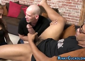 Domina cumswaps cuckold