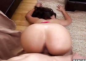 Mercedes Carrera gets fucked deep in her tight pussy
