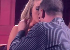Naughty Girl Making Out In Theater.