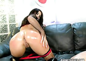 Appealingly hot babe Eva Angelina loves getting fucked in the ass