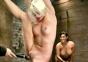 Girly Domination by Isis Love on Lorelei Lee with Ropes and Tooys